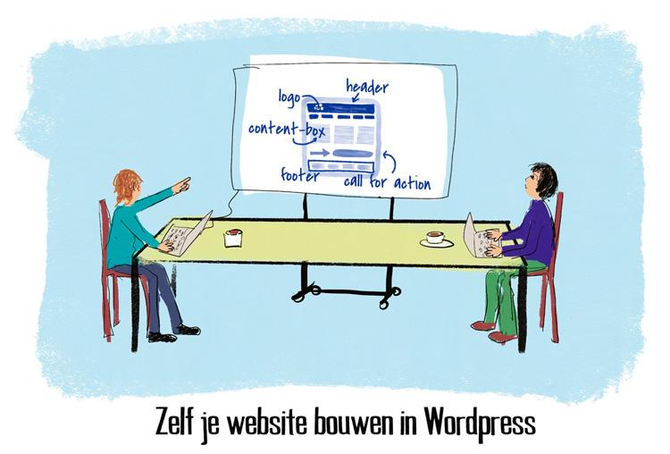 Zelf je website bouwen in WordPress